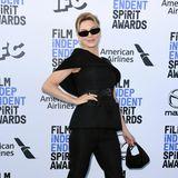 Strike a pose: Renée Zellweger macht im schwarzen Dior-Look eine tolle Figur.