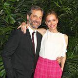 Judd Apatow und Leslie Mann genieße einen Tag vor den Oscars ebenfalls noch das Pre-Oscar-Dinner.