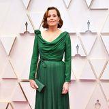 Smaragd-Schönheit: Sigourney Weaver in Christian Dior Haute Couture