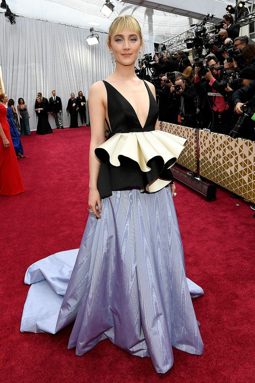 Wunderschön wellig: Saoirse Ronan in Gucci