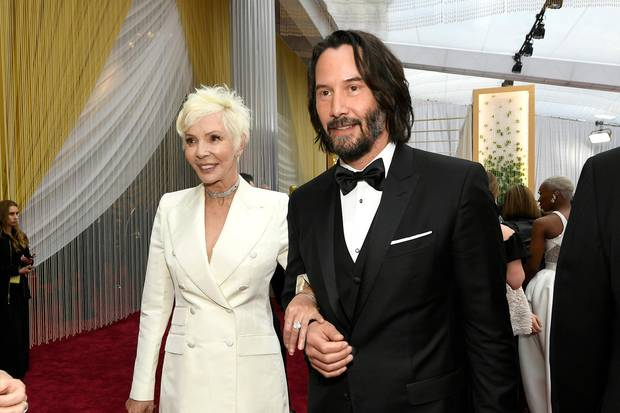 Keanu Reeves mit seiner Mutter Patricia Taylor