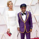 Tonya Lews Lee und Spike Lee bei den Oscars