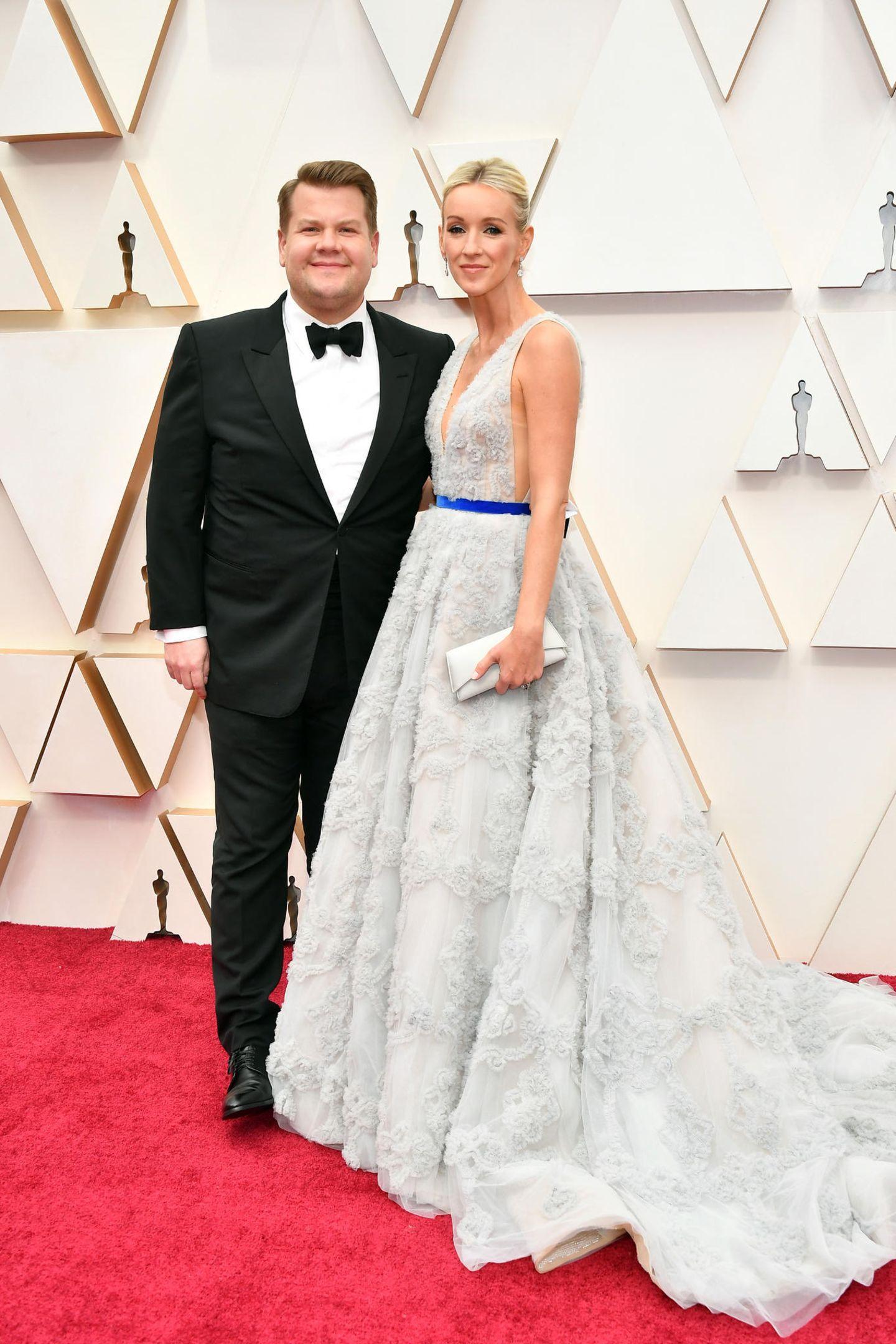 James Corden und Frau bei den Oscars 2020