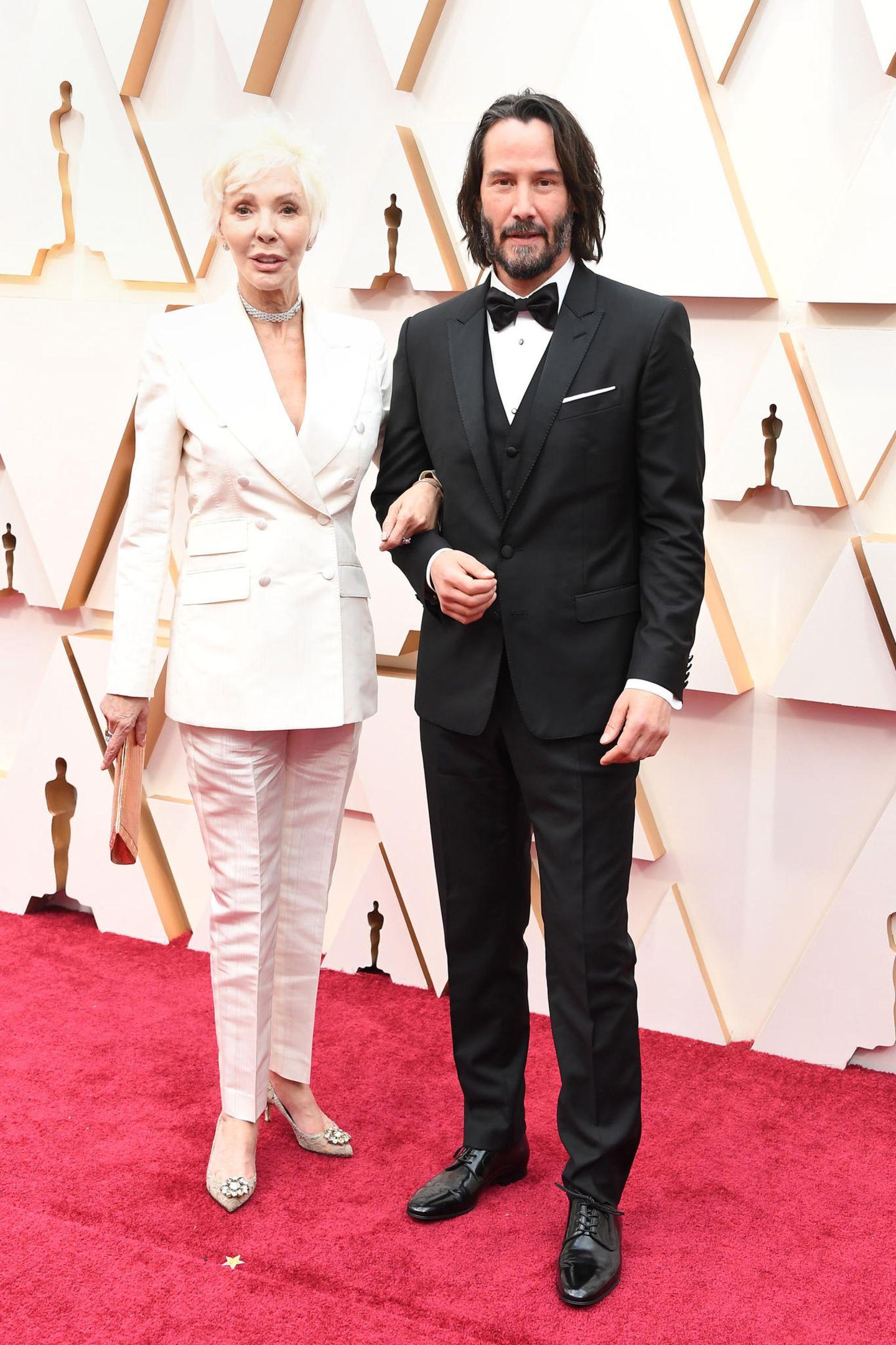 Keanu Reeves kommt mit seiner Mutter zu den Oscars