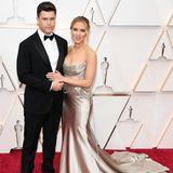 Scarlett Johansson mit Partner Colin Jost bei den Oscars