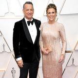 Fast 32 Jahre verheiratet und noch immer glücklich. Tom Hanks undRita Wilson sind aber auch einfach ein Traumpaar.