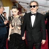 Preisträger Joaquin Phoenix und Rooney Mara bei den Oscars