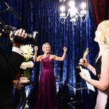 Kelly Ripa jubelt bei der Oscar-Verleihung