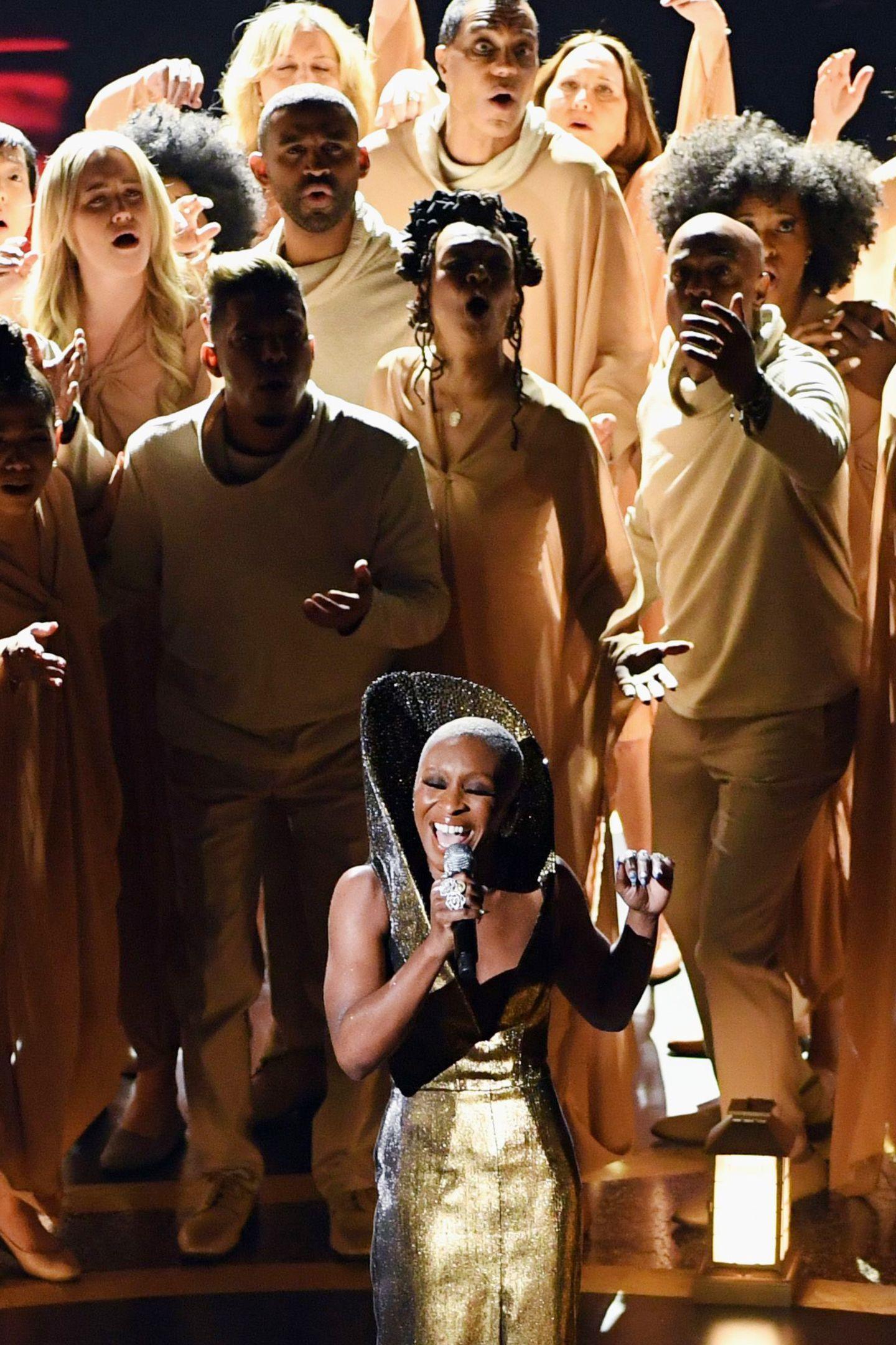 Cynthia Erivo singt bei der Oscar-Verleihung