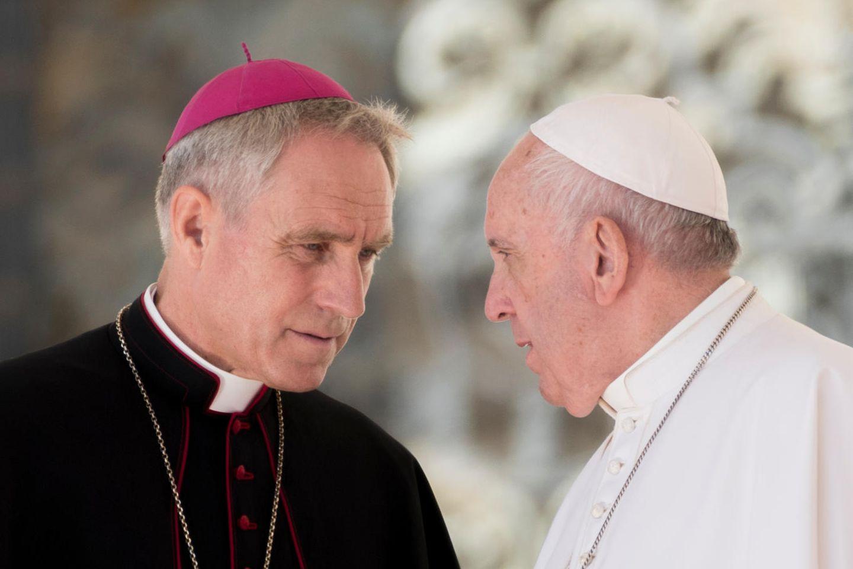 Erzbischof Georg Gänswein, Papst Franziskus