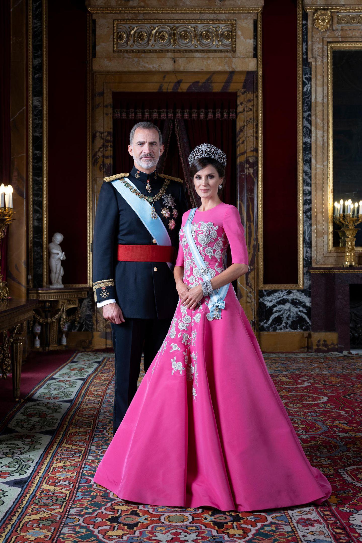 König Felipe + Königin Sofia von Spanien