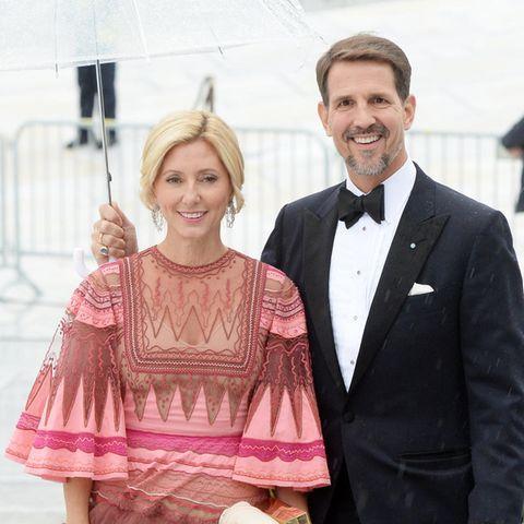 Prinzessin Marie-Chantal mit Ehemann Prinz Pavlos von Griechenland