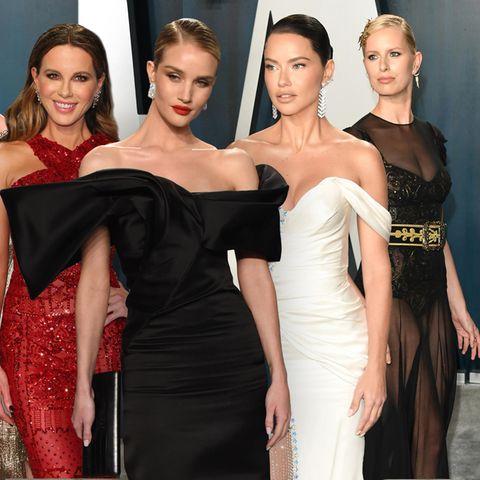Charlize Theron, Kate Beckinsale, Rosie Huntington-Whiteley, Adriana Lima + Karolina Kurkova