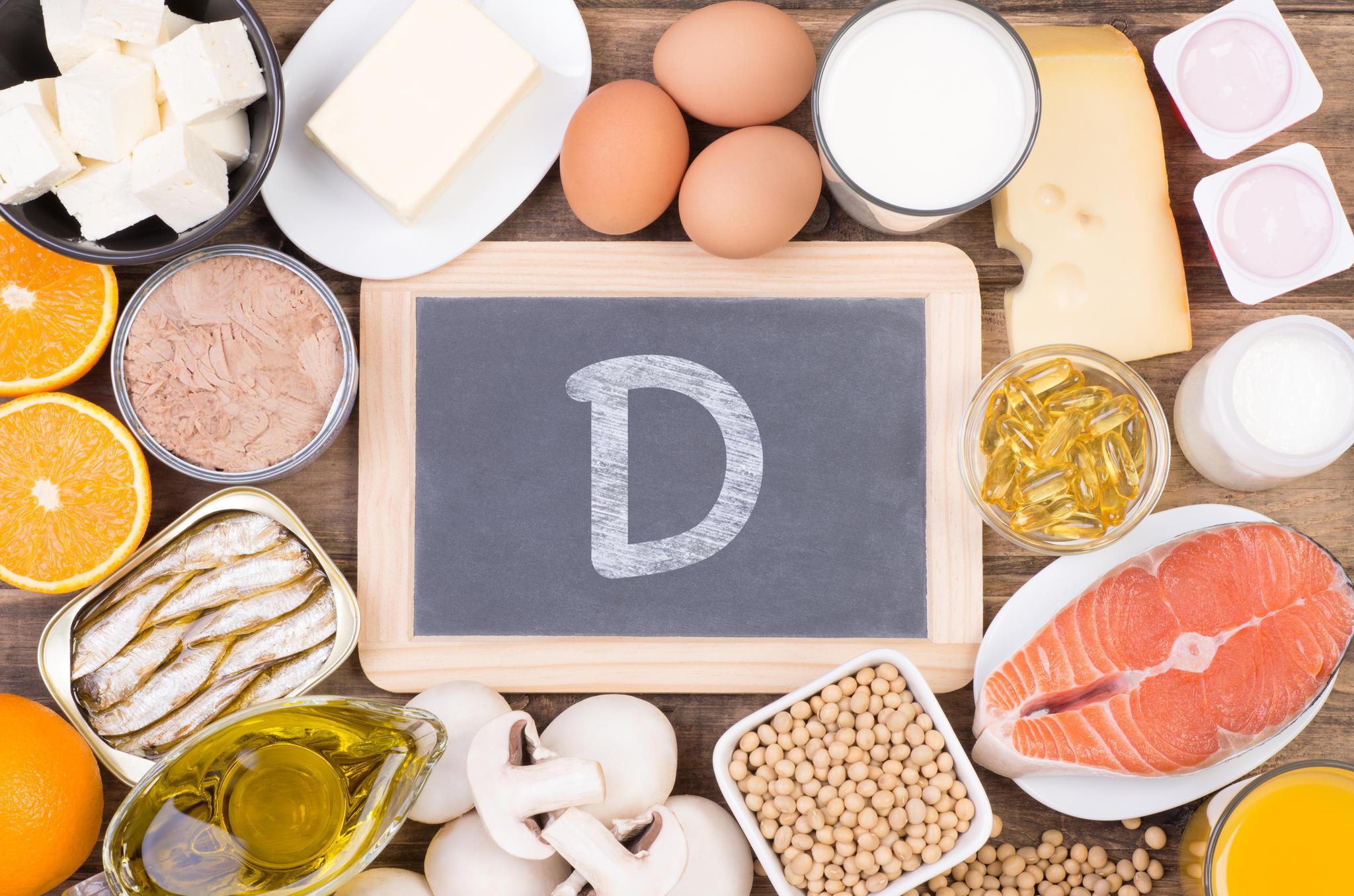 Vitamin D, Vitaminaufnahme, Nahrungsaufnahme, Nahrungsergänzungsmittel