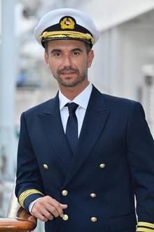 """Traumschiff""-Kapitän Max Parger (Florian Silbereisen)"