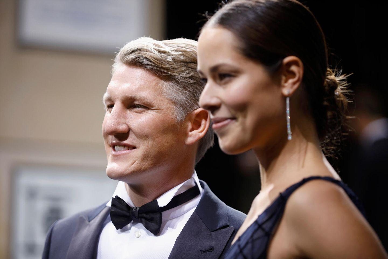 Bastian Schweinsteiger und AnaIvanović