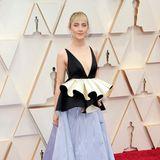 Zu den Oscars wurde derselbe Stoff für ein weiteres Kleid verwendet.