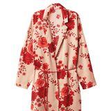Verpackt das schönste Geschenk: Sie selbst! Dieser Kimono mit Blumenmuster ist nicht nur am Tag der Liebe ein absoluter Hingucker, Von Intimissimi, circa 80 Euro