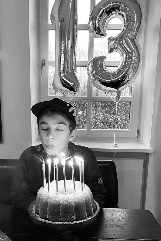 Heiner Lauterbachs Sohn feiert 13. Geburtstag
