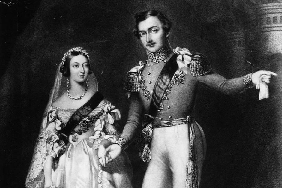 Royale Trendsetterin: Königin Victoria heiratete Prinz Albert am 10. Februar 1840