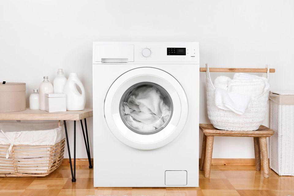Waschmaschinen-Keime loswerden