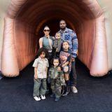 Kim Kardashian, Kanye West + Familie