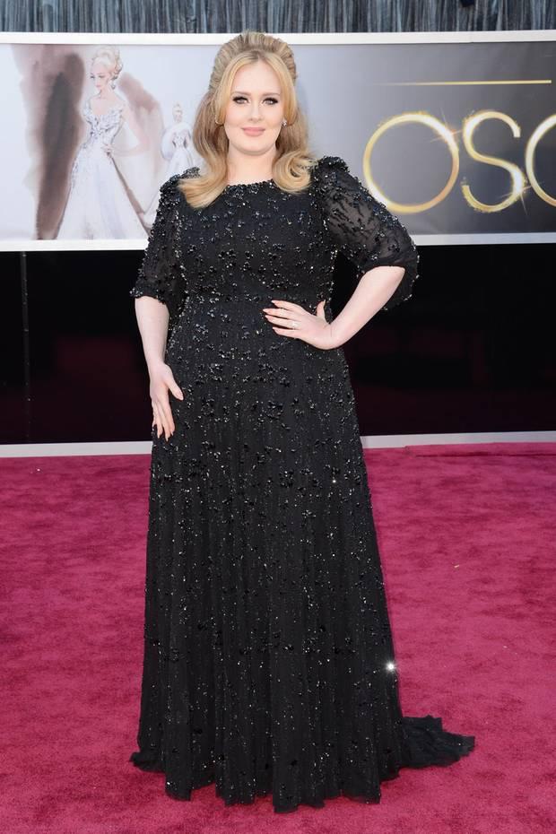 So kennen und lieben die Fans Adele…