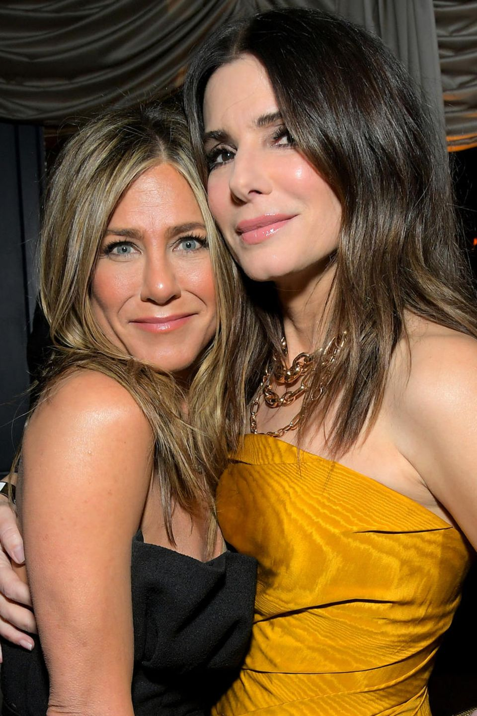 Jennifer Aniston, Sandra Bullock