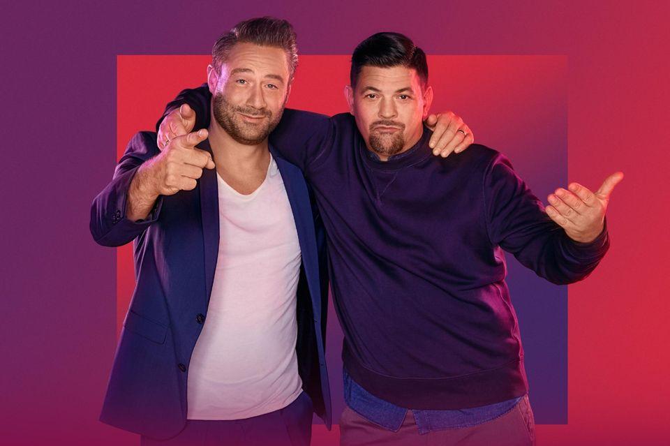 """Sasha und Tim Mälzer bei """"Alles auf Freundschaft - Die Mälzer & Sasha Show"""""""