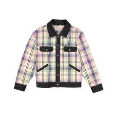 Keine Lust mehr auf die immer gleichen Jeansjacken? Mit dieser Wrangler Jacke für ca. 130 Euro hebt man sich von dem Einheitslook derDenim-Trends ab. Das im Karo integrierte frische Grün und Rosa macht schon jetzt Lustauf den Frühling.