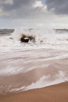 Strand inAberdeen, Schottland