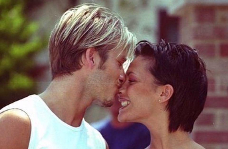 Die Beckhams haben schon einige Valentinstage zusammen verbracht. Mit diesemnetten Bild aus alten Zeiten erinnert David Beckham daran, dass Victoria die Liebe seines Lebens ist.