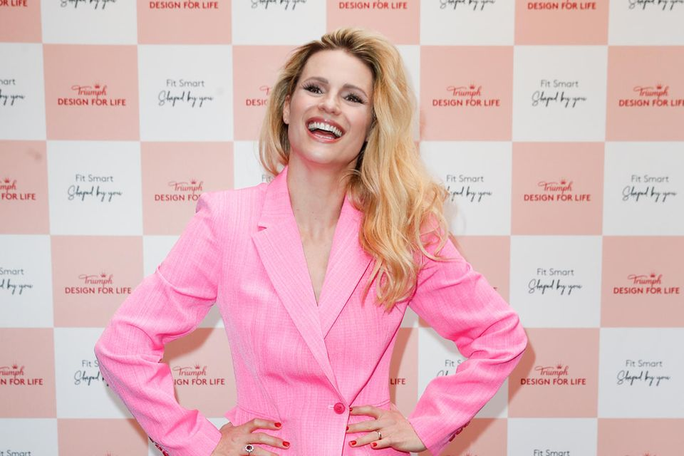 Michelle Hunziker beim Triumph-Event in Berlin.