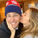 Tom Brade + Gisele Bundchen
