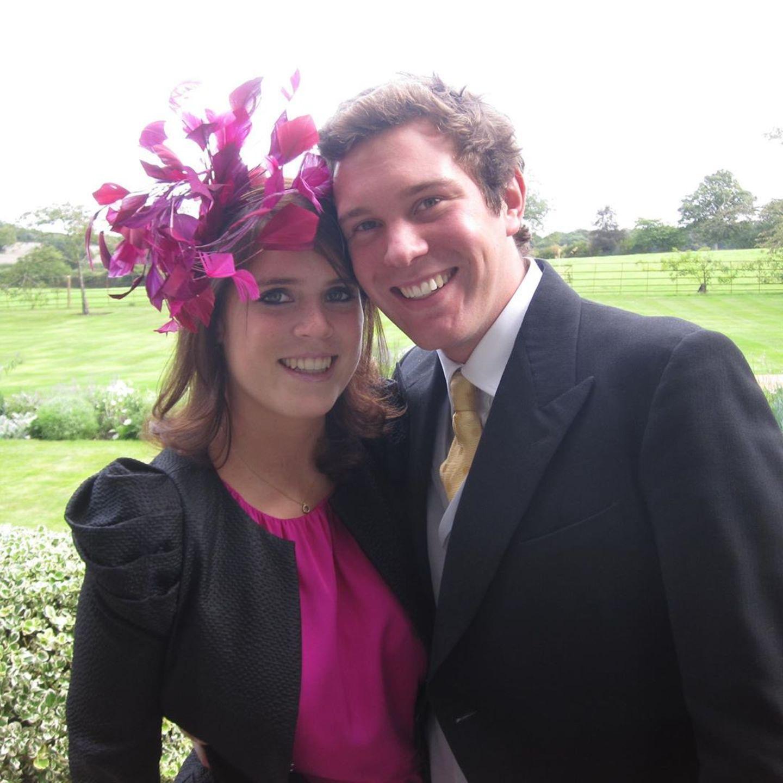 Prinzessin Eugenie + Jack Brooksbank