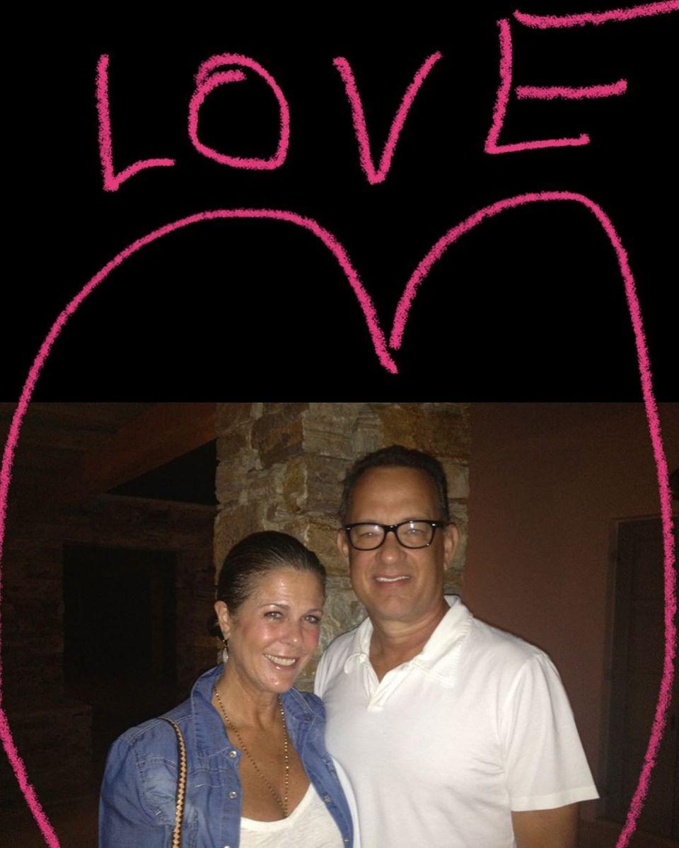 Rita Wilson + Tom Hanks