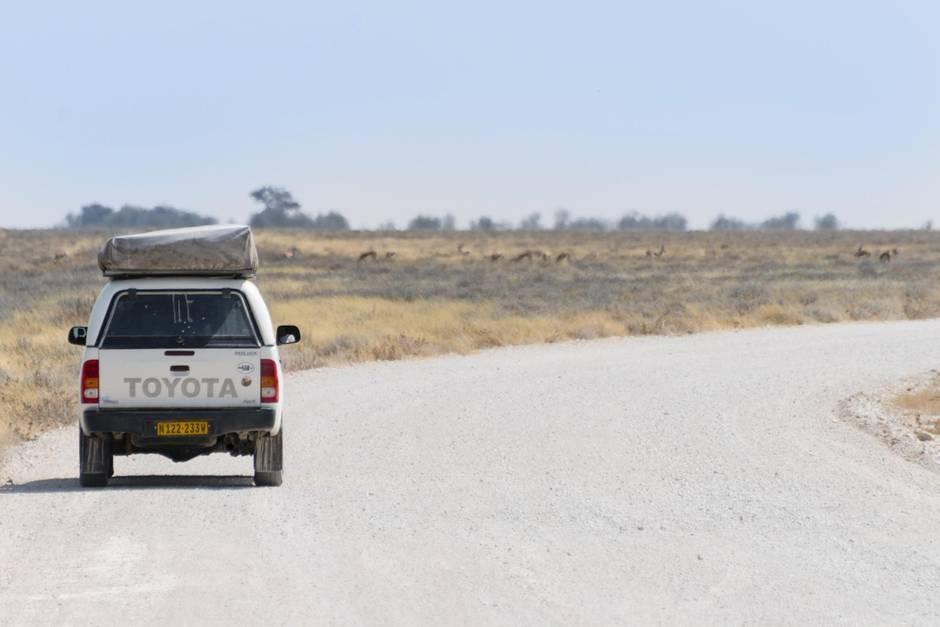 Hadri fuhr in einem Toyota um die Welt (Symbolbild)