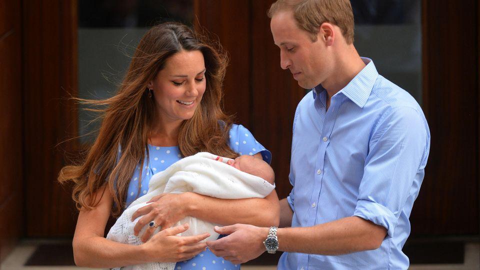 Herzogin Catherine: Die Wahrheit hinter dem ersten Foto mit Baby-Prinz George