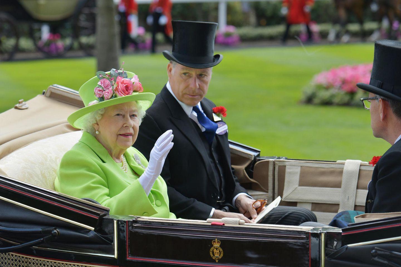 Queen Elizabeth und ihr Neffe David Armstrong-Jones
