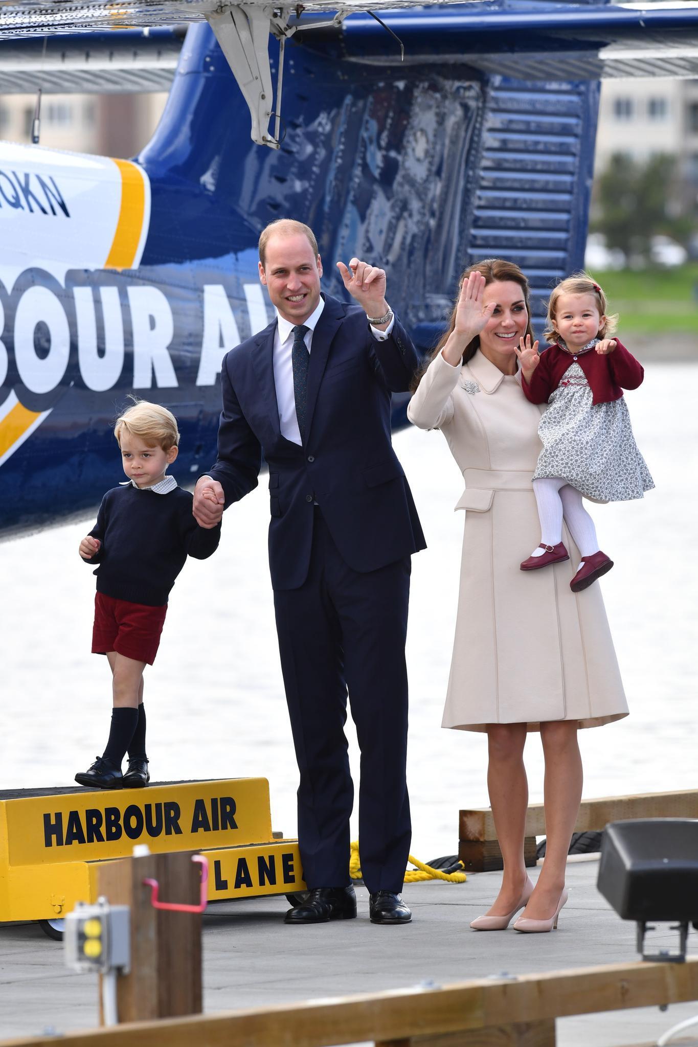 Die letzte große Reise führte Prinz George, Prinz William, Herzogin Catherine und Prinzessin Charlotte im Oktober 2016 nach Kanada.