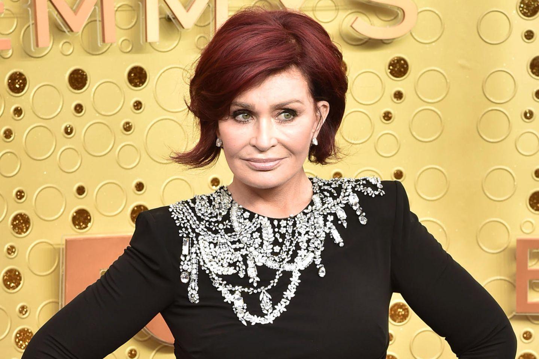 Sharon Osbournes roteHaare sind ihr Markenzeichen