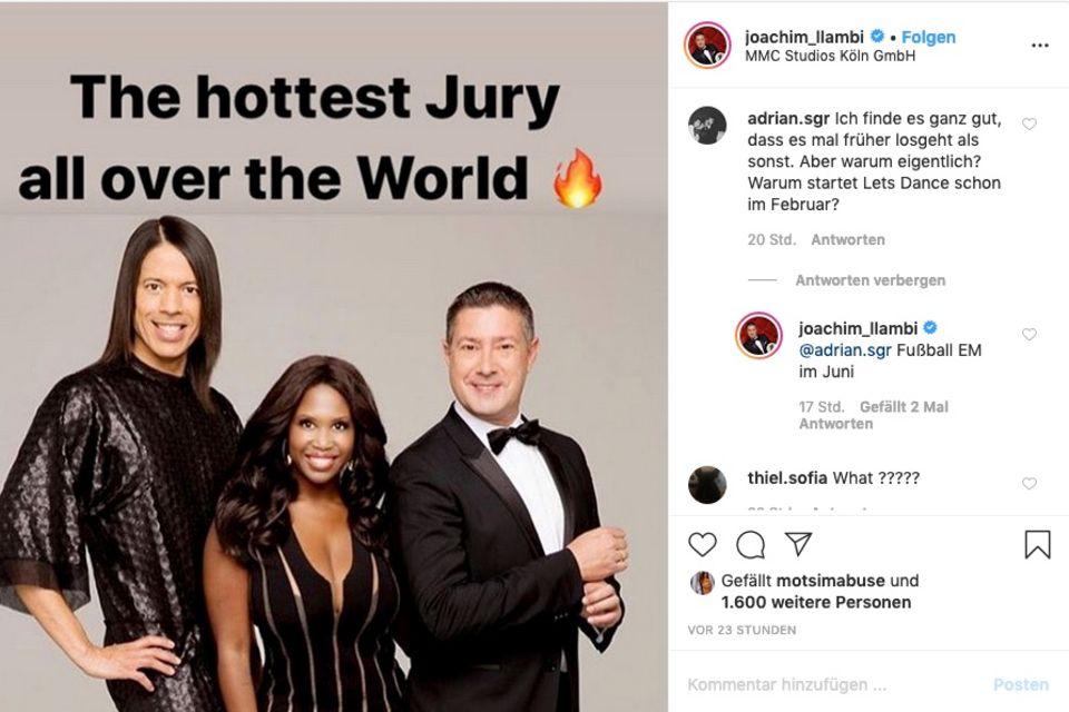 """Let's Dance""-Juror Joachim Llambi verrät den Grund für den späten Staffelstart."