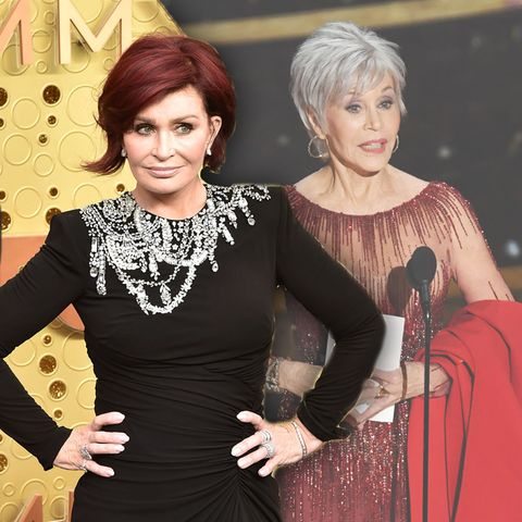 Sharon Osbourne, Jane Fonda
