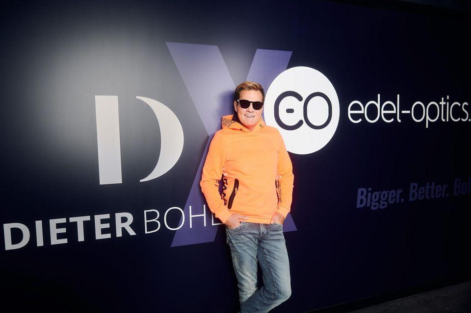 """Dieter Bohlen stellt seine zweite Brillenkollektion für """"Edel-Optics"""" vor"""