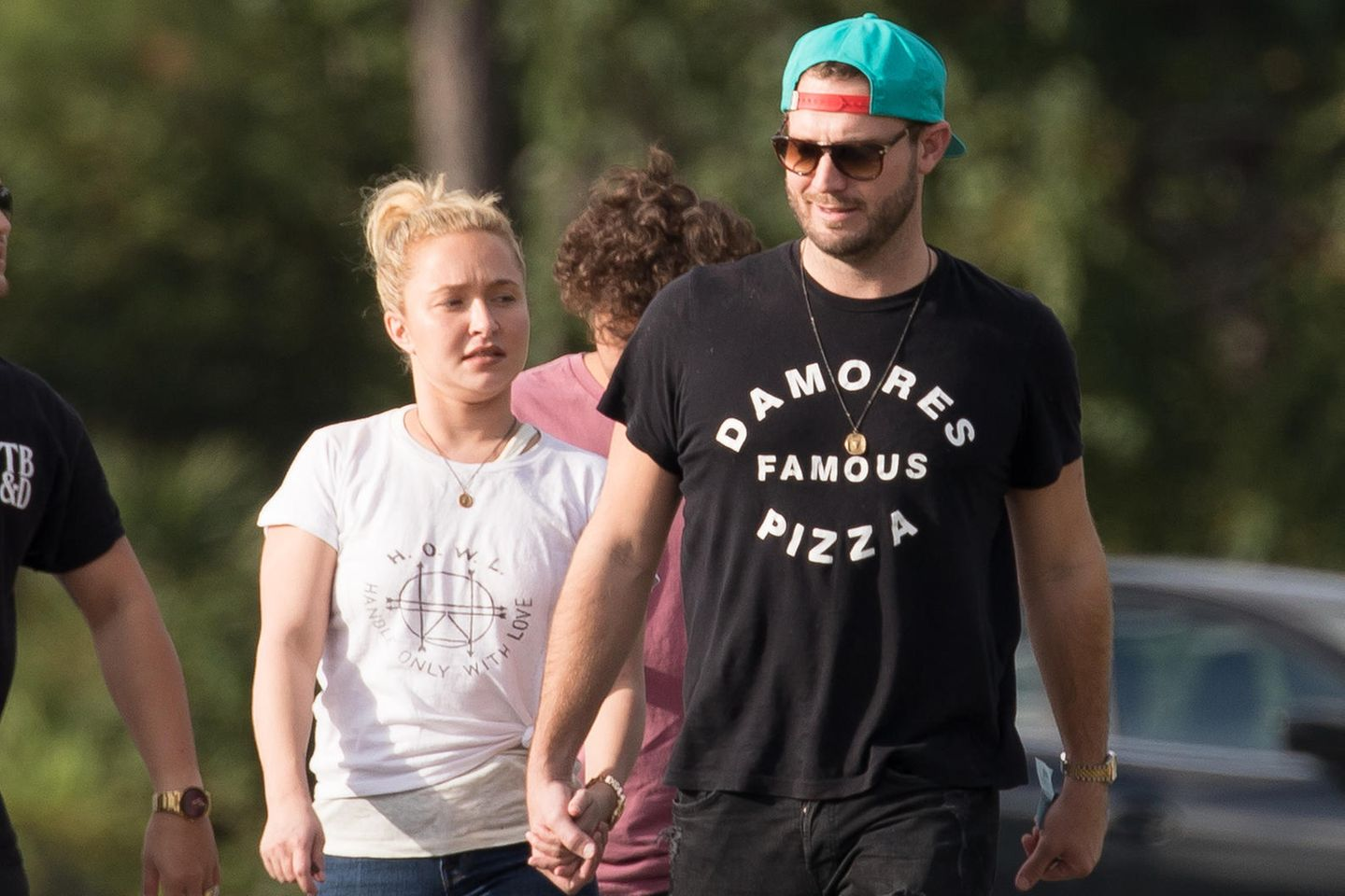 Hayden Panettiere + Brian Hickerson im August 2018