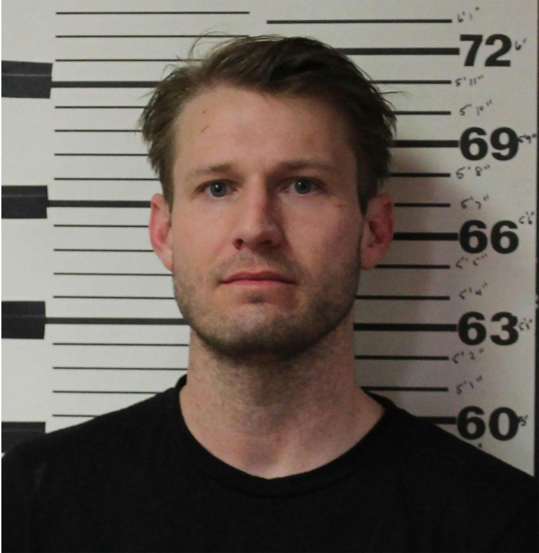 Brian Hickerson bei seiner Verhaftung im US-Bundesstaat Wyoming