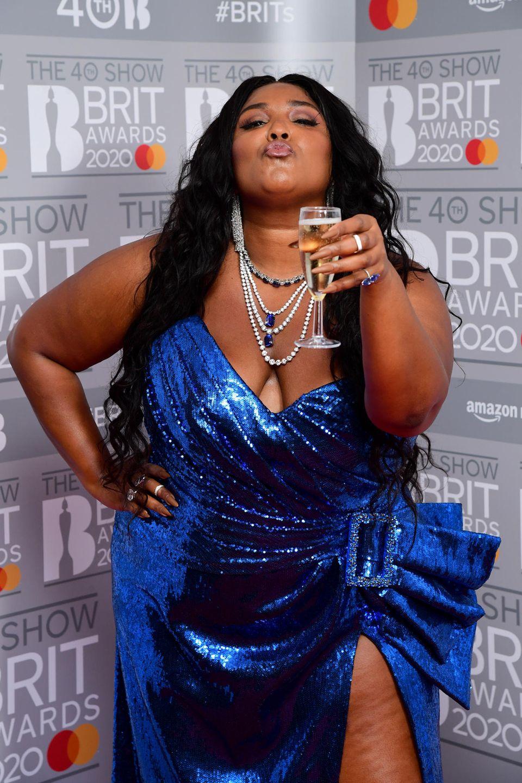 Lizzo bei den Brit Awards