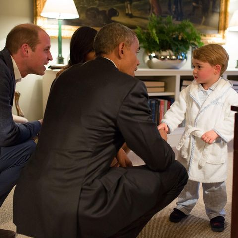 Prinz William, Barack Obama und Prinz William