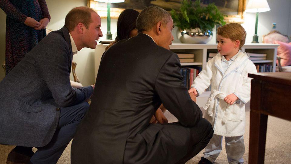 Prinz William, Barack Obama und Prinz William