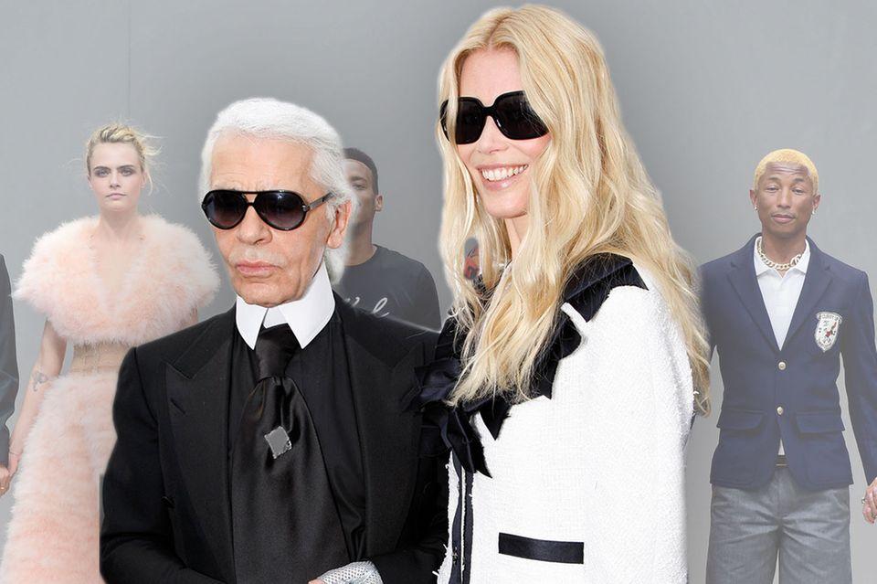 Karl Lagerfeld, Claudia Schiffer